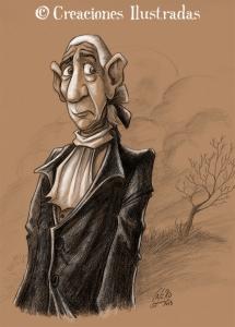 Ichabod Crane. Boceto