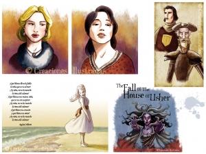 Ilustraciones para libro de lengua