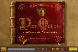 Las Aventuras de Don Quijote (Portada de la app)