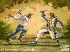 Lucha encarnizada contra los piratas