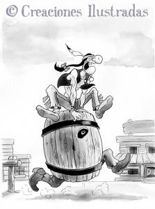 Este barril está loco