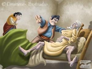Don Quijote y el novio celoso