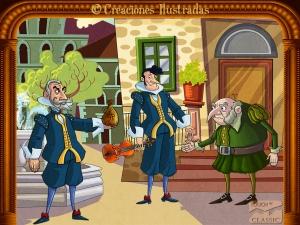 El conde Almaviva es un maestro del disfraz