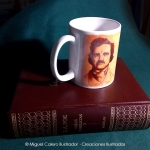 Taza Edgar A. Poe